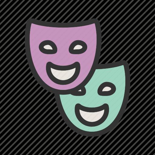 cinema, interior, movie, screen, show, theater, theatre icon
