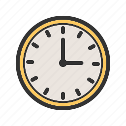 alarm, clock, hour, minute, number, office, time icon