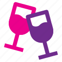 alcohol, event, glass, party, wine icon