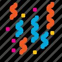 confetti, event, happy, new, party, year icon