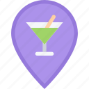 alcohol, bar, club, holiday, location, party icon