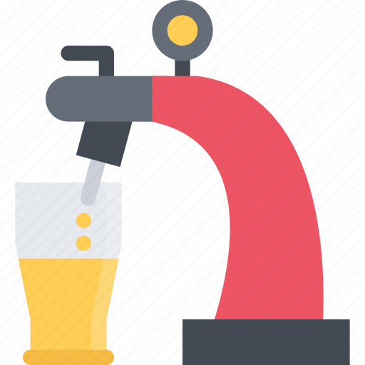 alcohol, bar, beer, club, holiday, party, tap icon