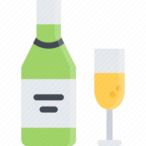 alcohol, bar, champagne, club, holiday, party icon