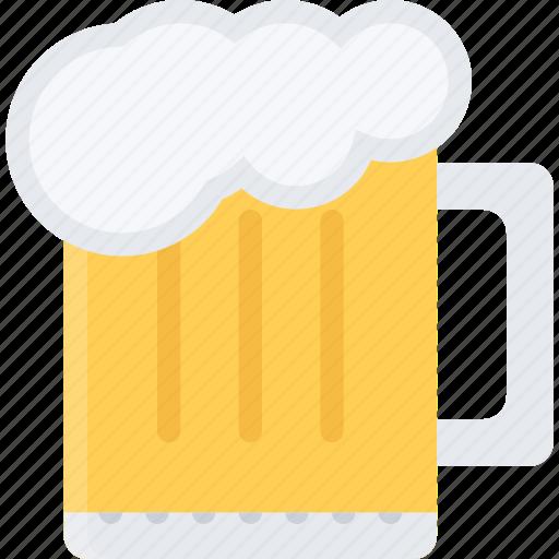 alcohol, bar, beer, club, holiday, mug, party icon