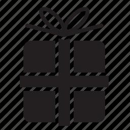 birthday, bow, christmas, gift, party, present, xmas icon