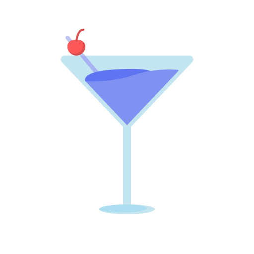 cocktail, newyears, party icon