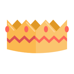 crown, newyears, party icon