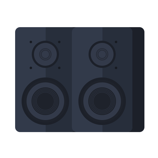 newyears, party, speaker icon
