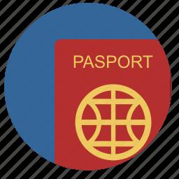 citizen, identity, passport, person icon