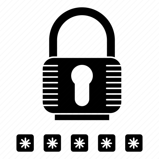 Lock, security, password, protection icon