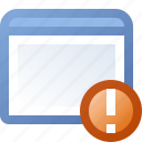 alert, application, window icon
