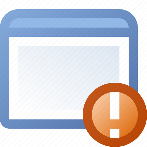 alert, application, window icon