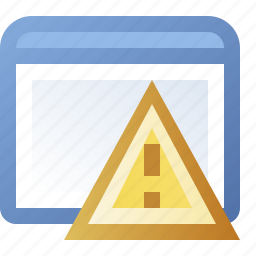 application, error, window icon