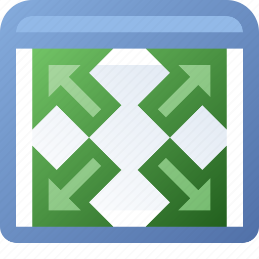 application, expand, window icon