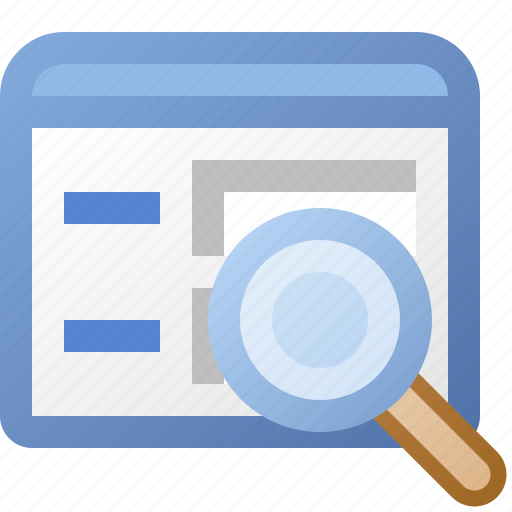 application, form, magnify, window icon