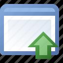application, get, window icon