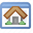 application, home, window icon