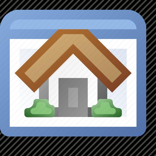 application, home, window icon