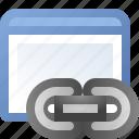 application, link, window