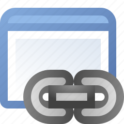 application, link, window icon