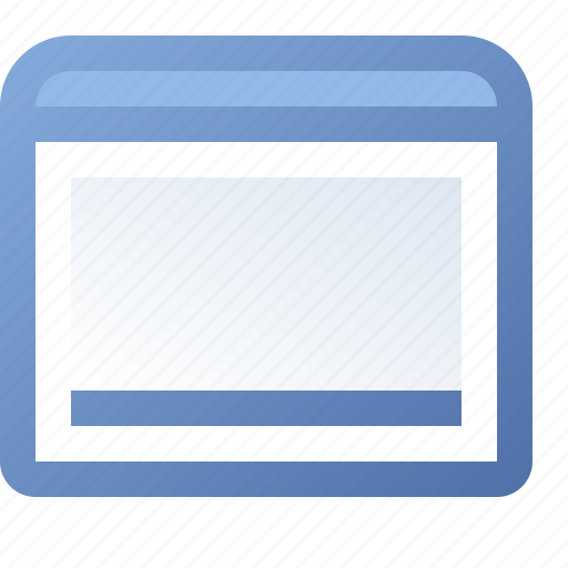 application, statusbar, window icon