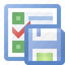disk, event, save, schedule, task icon