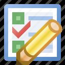 edit, event, schedule, task icon