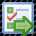 event, go, schedule, task icon