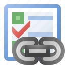 event, link, schedule, task icon