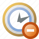 alarm, clock, delete, schedule, time icon