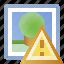 alert, error, image, photo, picture, warning icon