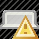 alert, error, tab, warning icon