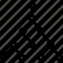 computation, computing, connectivity, data flow, mesh network, path testing, topology icon
