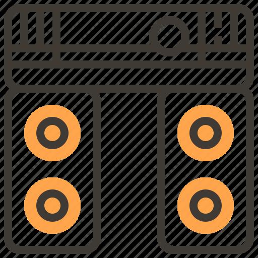 asset, audio, finance, loan, pawnshop, sound, speaker icon