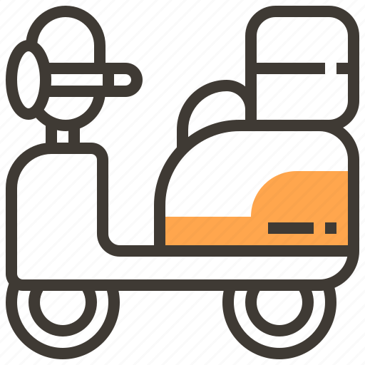 asset, finance, loan, pawnshop, scooter, transportation, vehicle icon