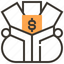 asset, cash, finance, loan, money, pawnshop, payment icon