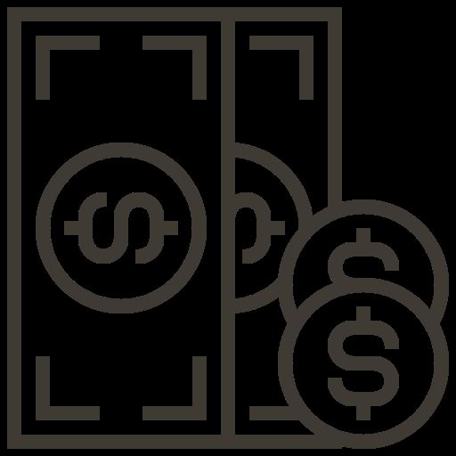 asset, cash, currency, financial, loan, money, pawnshop icon