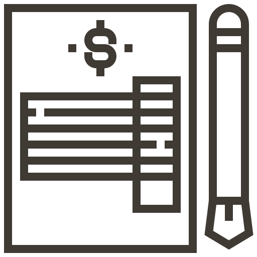 asset, business, finance, invoice, loan, pawnshop, tax icon