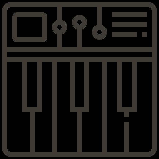 asset, instrument, loan, music, pawnshop, piano, sound icon