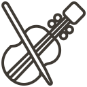 asset, instrument, loan, music, pawnshop, violin icon