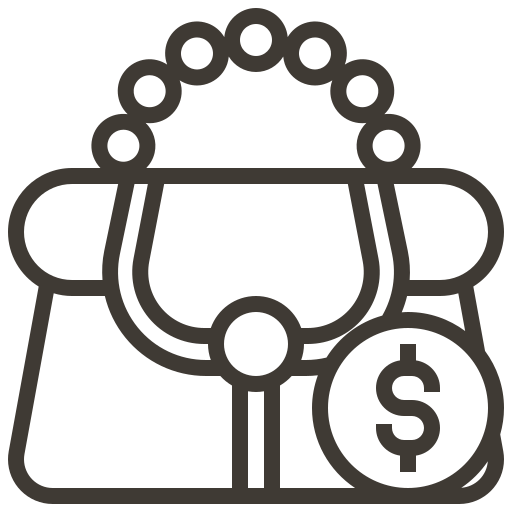 asset, bag, briefcase, currency, loan, money, pawnshop icon