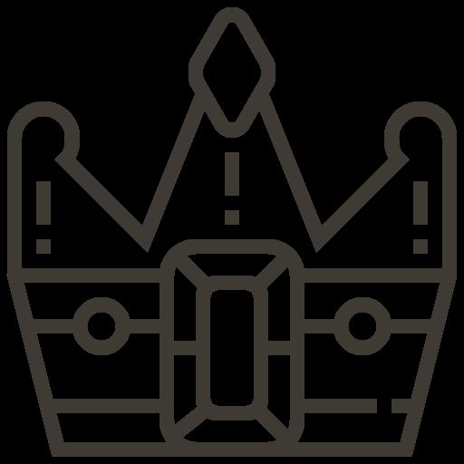asset, banking, crown, king, loan, pawnshop icon