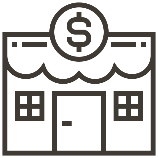 asset, commerce, ecommerce, loan, pawnshop, shop, store icon