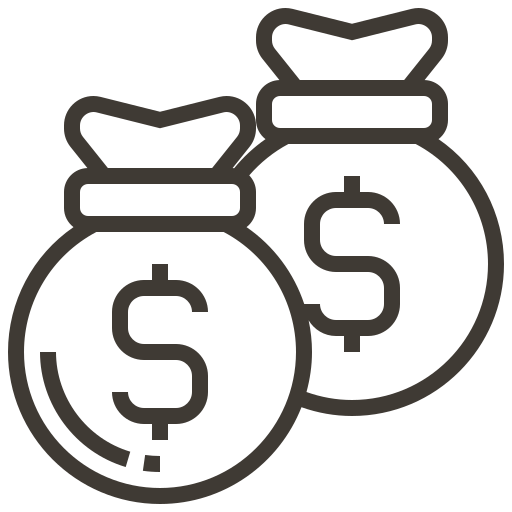 asset, currency, finance, loan, money, pawnshop, shopping icon