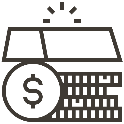 asset, currency, finance, gold, loan, money, pawnshop icon