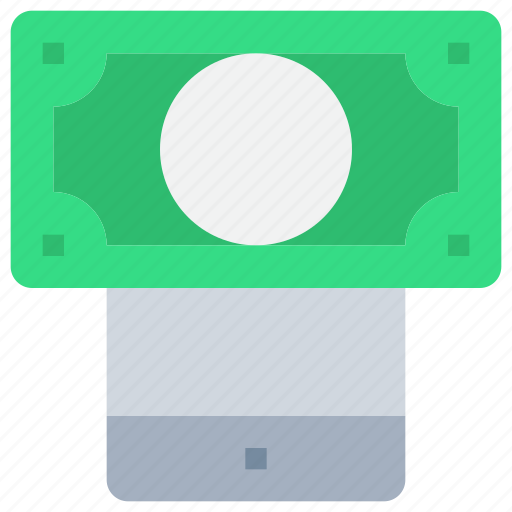 bank, business, mobile, money, payment, smartphone icon