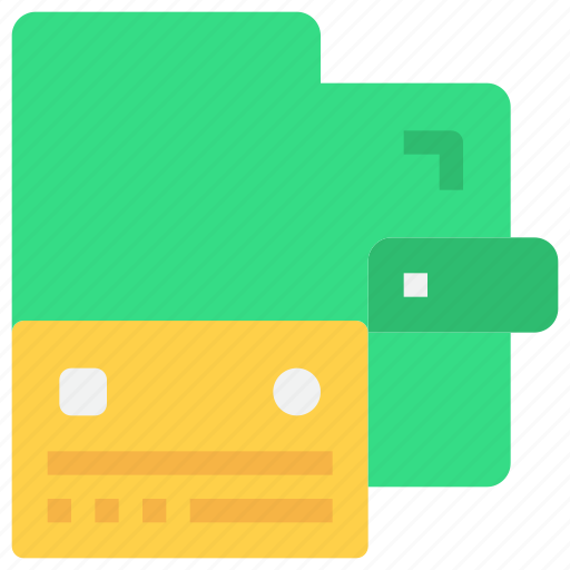 bank, card, credit, money, payment, wallet icon