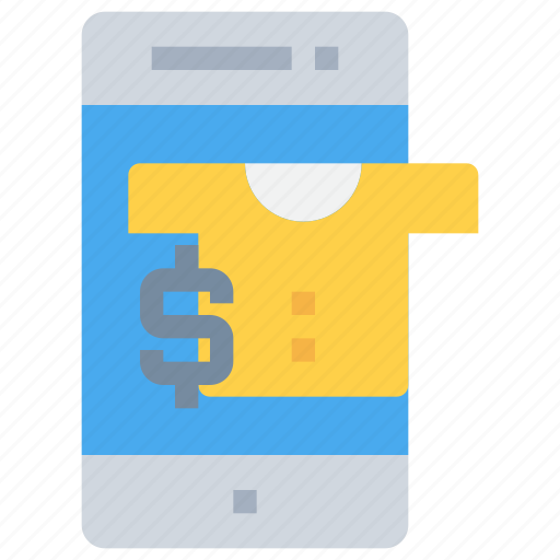bank, banking, money, online, payment, shopping, smartphone icon