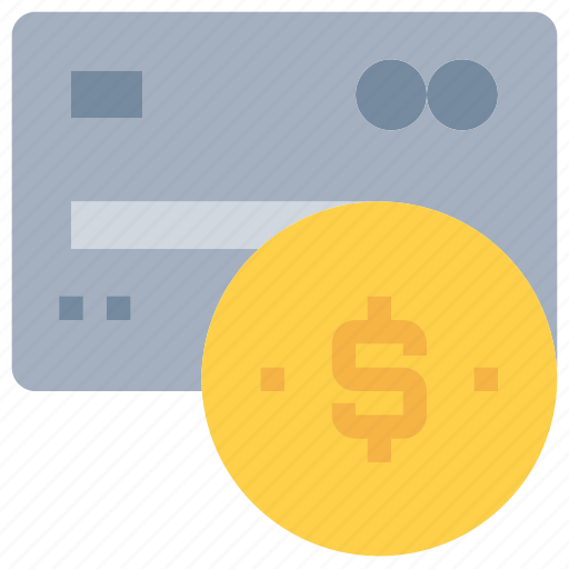 bank, business, card, credit, money, payment icon