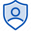 login, password, protect, register, secure, security, shield icon